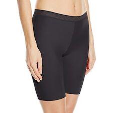 Vassarette Invisibly Smooth Lightweight Black Slip Short Size 9/2XL