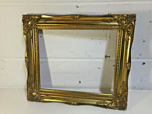 "Vintage Ornate Gold Gilt Picture Frame 16"" x 14"" ~ New Old Stock NOS"