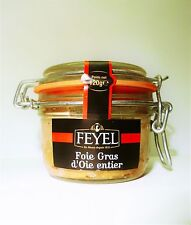 Foie Gras d' Oie whole goose liver feyel 120g Ironing Glass French delicacy!