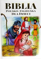 Biblia polsko-angielska dla dzieci polska ksiazka, polish book TW  wyd Fenix
