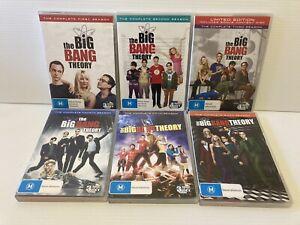 DVD The Big Bang Theory Bundle Bulk Lot The Complete Seasons 1,2,3,4,5,6 PAL