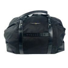 Chrysler Crossfire Touring Gear Weekend Duffel Travel Luggage Bags Black EUC