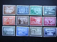 Germany Nazi 1939 Stamps MNH WWII Third Reich Comradeship of the German Reich po