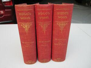 Victor Hugo Vintage Les Miserables 3 Books Set, Vol, 1,2  3,4   5