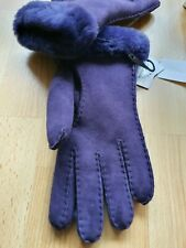 BNIB Genuine Ugg Gloves. Purple. Large. With HOLOGRAM. RRP £110. Nightshade.