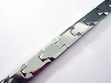 New Silver Tungsten Carbide Men Bracelet Energy Magnetic watch bracelet TS130