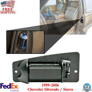 Rear Driver Side Extended Cab Door Handle For 99-06 Chevy Silverado / Sierra