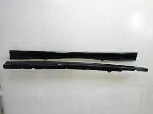 95-99 BMW M3 M-Tech Side Skirts Pair Cosmosschwarz Metallic E36 OEM 181