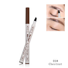Music Flower Tattoo Eyebrow Liner Ink Pen Pencil, Dark Grey , Chestnut or Brown