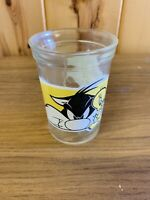 Vintage 1994 Looney Tunes Sylvester & Tweety Welch's Jelly 3 Juice Glass - #6