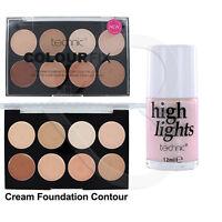 Technic Colour Fix Cream Foundation Contour Palette & Highlighter Duo