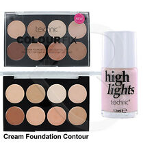 Technic Colour Fix Cream Foundation Contour Palette & Highlighter Duo