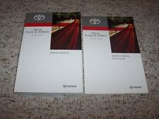 2010 Toyota Prius Plug-In Hybrid Factory Owners Owner's User Manual Book Set