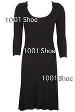 Jacqui E Viscose Casual Dresses for Women