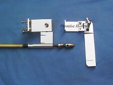 "95mm rudder adjustable strut & 3/16"" cable set for nitro or electric rc boat"