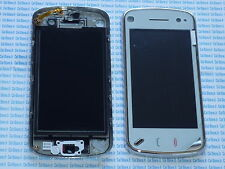 Touch screen touchscreen per Nokia N97 bianco cover anteriore frontale bianca 97