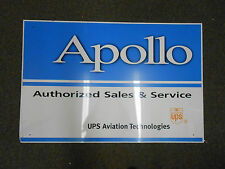 APOLLO ALUMINUM ADVERTISING SIGN