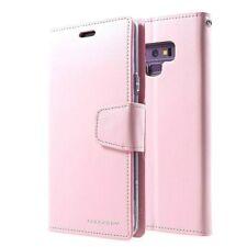 Galaxy Note 9 Genuine MERCURY Goospery Sonata Diary Pink Flip Case Wallet Cover
