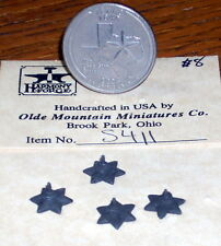 Dollhouse Miniature Building Star, Small 1:12 #S411 Antique Tin Finish Hardware