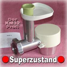 █ BRAUN KM32 🔴 FLEISCHWOLF für Küchenmaschine KM + Standmixer MX 32 31 3