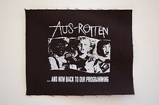"Aus Rotten Cloth Patch Sew On Badge Doom Punk Rock Music Approx 5""X4"" (CP70)"