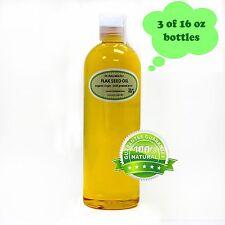 48 Oz Premium Pure Organic Cold Pressed Best Fresh Flax Seed Oil Multi Purpose