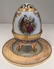 Vecceli Large Egg Trinket Box Collectible