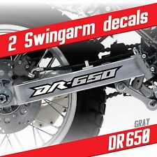 DR650 graphic Swingarm decals stickers set Gray Suzuki DR-650
