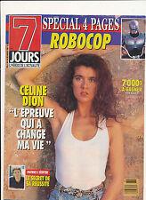 7 JOURS 90/36 (20/7/90) CELINE DION MADONNA