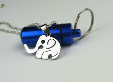 Good Quality Elephant Charm Silver 316L Stainless Steel Pendant Necklace