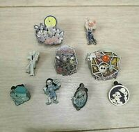 Halloween Disney Light Up Glow Pin HKDL 2007 Mickey and friends Rare Mix Lot