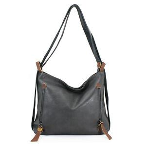 Multi Function Ladies Shoulder Bag / Backpack Women Cross Body Messenger Handbag