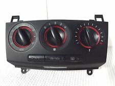 2007-2008 Mazda 3 manual heater A/C temp Climate Control module unit used OEM