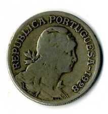 Moneda Republica Portuguesa 1928 1 escudo coin