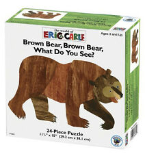 *NEW IN BOX* Brown Bear What do you See Puzzle 24 piece - Eric Carle - 3 years+