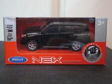 Toyota Land Cruiser 140 Black 1/43 pullback toy car welly