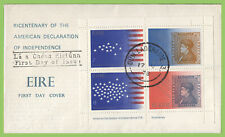 Ireland 1976 American Independence mini sheet First Day Cover