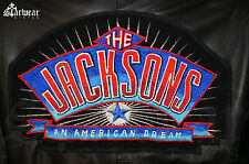 🔥VTG An American Dream Michael Jackson Leather Movie Worn Prop Crew Jacket M/L