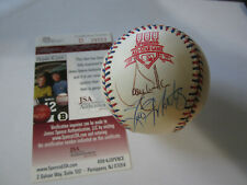 Larry Walker Autograph 1997 AS baseball JSA W/ Tino Martinez