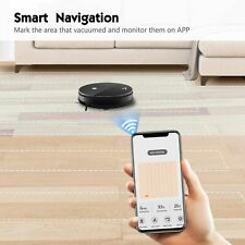Moosoo MT-501 Smart Robot Vacuum Cleaner/Mop Combo w/ Mobile App & Alexa Hot