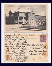 CANADA QUEBEC BAIE ST PAUL HOTEL MOREN 10 JULY 1949 TO BENTON HARBOR MICHIGAN