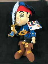 "Disney Store Captain Jake Plush Jake and the Neverland Pirates 12"" Toy NWT"