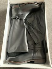 Women's BNIB John Lewis Skyler Black Knee-High Boots Size Uk 6