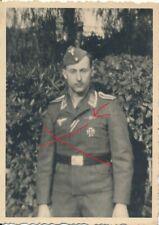 Nr.25028 2 x Foto 2, Weltkrieg Deutscher LW Soldat Orden  Frontflugspange