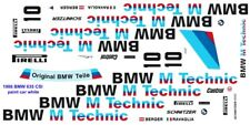 #10 BMW M Technic 1986 BMW 635 CSi 1/18th Scale Waterslide Decal