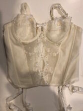 Lise Charmel Embroidered Bridal Bustier 4453 - Ivory 32B