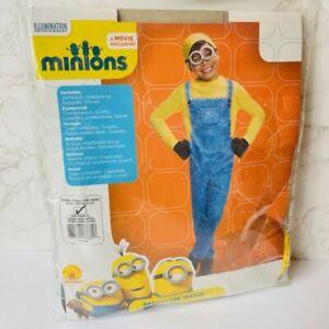 Rubies Minion Bob Yellow Jumpsuit Child Halloween Costume Size Extra Small 3-4