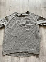 Men's j crew small grey jumper With elbow patches Size Small