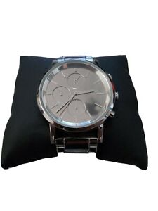 DKNY Damen-Armbanduhr Chronograph Quarz Edelstahl NY8860