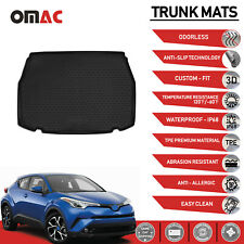 Front 2 Piece Tray 2PC Car Mats 2 PC Set Pair For Toyota C-HR C HR CHR 2017 on